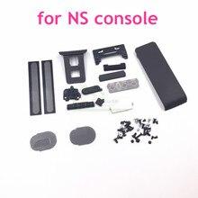 Funda trasera para tornillos de consola Nintendo Switch, reemplazo de botón de volumen para NS