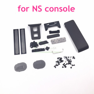 Image 1 - 닌텐도 스위치 콘솔 나사 백 쉘 홀더 킥 스탠드 전원 스위치 볼륨 버튼 교체 ns 용