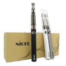 Nigel brand eVod Double Stem E Cig kit with 1100mAh Variable Voltage EVOD Battery gift box High Quality Vapor Cigarettes
