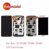 High Quality 5 2 For Motorola Moto X2 XT1092 XT1095 XT1097 Full Lcd Display With Touch