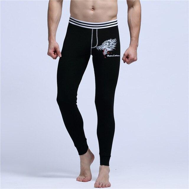 2016 новое печать зимний мужской гостиная сна сексуальные хлопок осень пижамы мужские новый сна теплые брюки