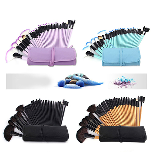 10/32 Pcs Wood Handle Make-Up Brushes Kit Pro Beauty Cosmetic Make Up Set parastone pro 10 статуэтка медсестра profisti parastone