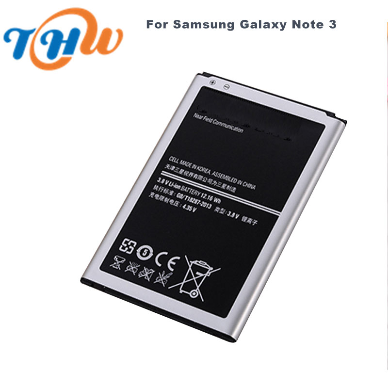 charging mobile phone batteries for Samsung Galaxy Note 3 3.8V 3200mAh Backup Replacement Electronic Batteries DC034