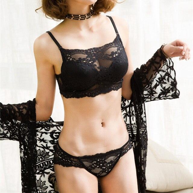 9a426e95be79e4 R$ 52.85 |Aliexpress.com: Compre Novo Conjunto de Sutiã Sexy Seamless  Japonês Push Up conjunto de Sutiã Calcinha Pequena Conjuntos de Roupa ...