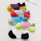 ★  20 пар / упак! Женские носки для бега Тапочки Летние тонкие сетчатые дышащие спортивные носки Невиди ✔