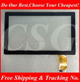 "Black New 7"" GOCLEVER TAB R76.2 Tablet 36Pins Capacitive Touch Screen Panel Digitizer Glass Sensor Free Shipping"