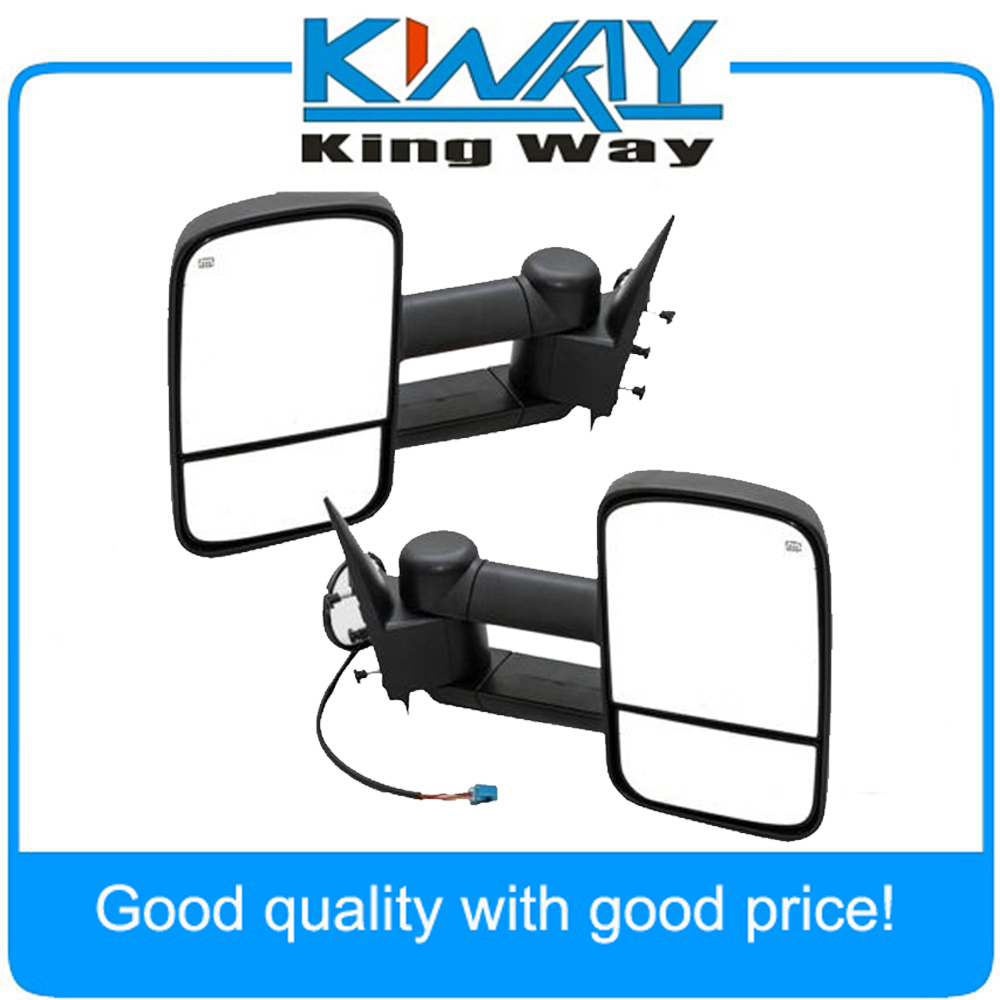 Power heated towing mirrors for 2003 2006 chevy silverado gmc sierra pickup truck