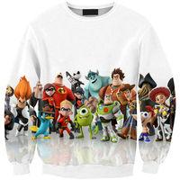 Melly Sister Animation Story Cute women/men cartoon hoodies print 3d sweatshirt winter minions coat clothes Harajuku top