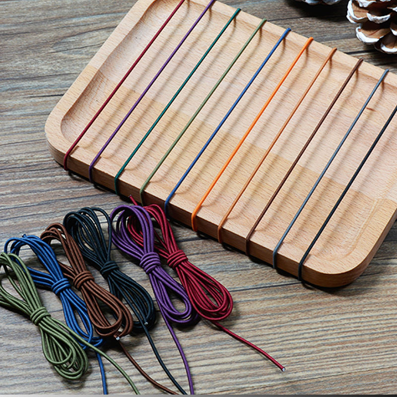 Vintage Travelers Notebook Rubber Elastic Band For Midori Planner Inner Core Filler Paper Nylon Rope Bullet Journal Accessories