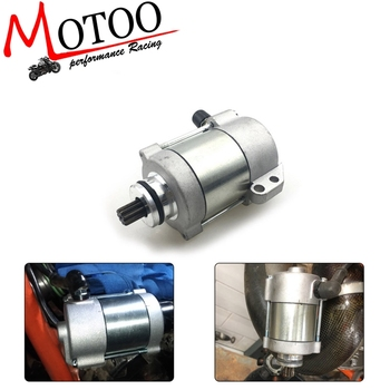 ANODIZING Motorcycle Starter Motor  12V 410W 55140001100 55140001000 For KTM 200 250 300 XC-W EXC EXC-E XC 2008-2012