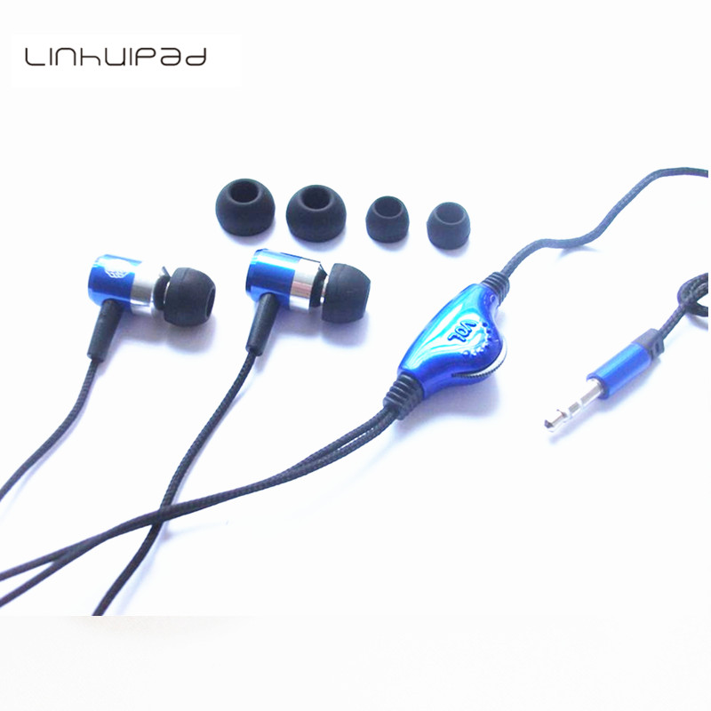 Linhuipad 3.5mm Stereo Metal Earphone With Volume Control Free Shipping By Singapore Post image
