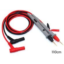 Digital Multimeter Tester 20A 1000V multimeter probe Thin Tip Needle multimeter cable multimeters line nflc victor digital multimeter 20a 1000v resistance capacitance inductance temp vc9805a