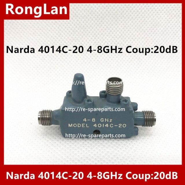 [Bella] Narda 4014C 20 4 8 Ghz Coup:20dB Sma Koppeling