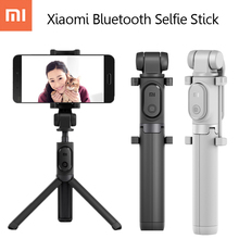 Original Xiaomi Foldable Tripod Selfie Stick Bluetooth Selfie stick With Wireless Shutter Selfie Stick For iPhone