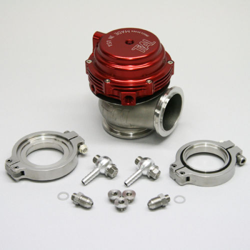 ФОТО TL Sport MV-R MVR 44mm V-Band Vband Wastegate Kit water cold RED