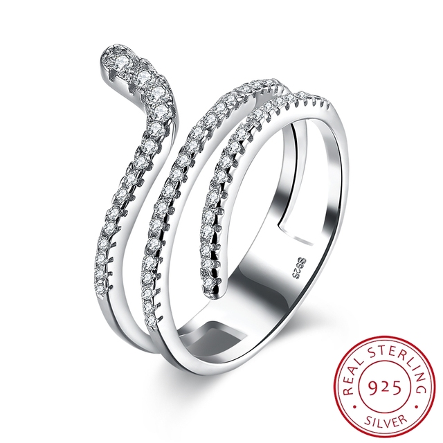 2017 Размер 6 7 8 Изящных Ювелирных Изделий Популярные Стерлингового Серебра 925 Кольцо Изгиба Дизайн Кольцо Для Женщин Ювелирные Изделия