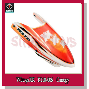 K110 Canopy / Head Cover for Wltoys XK K110 RC Helicopter Spare Parts K110-006