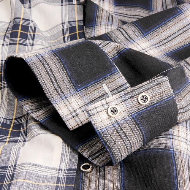 ALLKPOPER KPOP  Plaid Shirt Women Bangtan Boys SUGA Blouse Korea Fashion Plus Size Casual Spring Autumn Splice Shirts 4