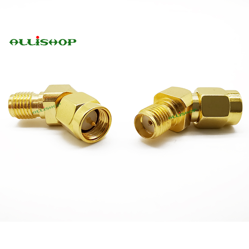 Rp SMA Male Plug to Female Jack Straight Rf Adapter Coaxial Connector Converter Connectors Pigtail Plug Adapter Wire Jack Connector Antenna Digital 5000b Test Pitch Audio Male Adaptor Coaxial