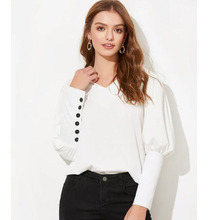 Fannico Puff sleeve women blouse shirt B