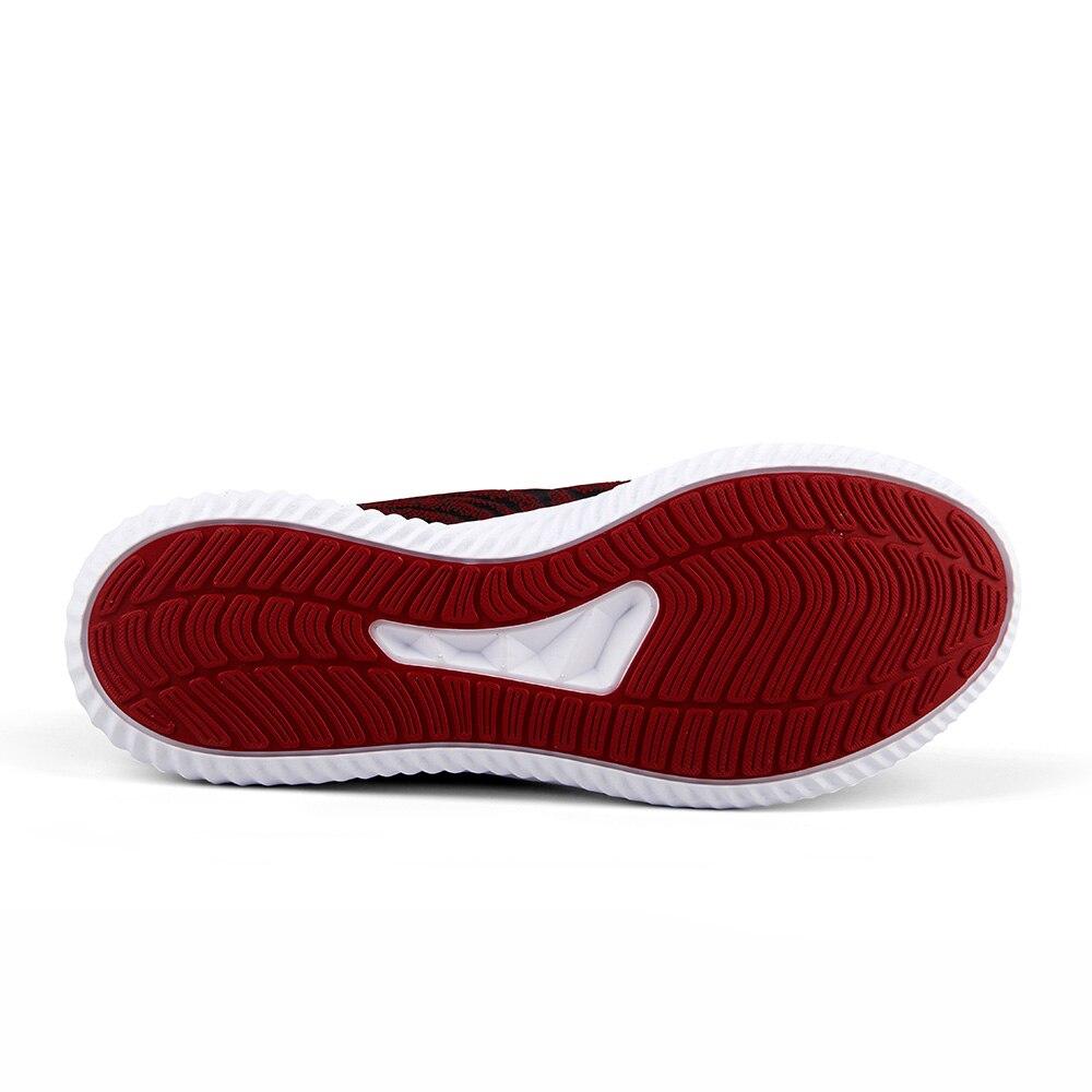 SAIQI бренд 2019 мужская повседневная обувь текстильная прогулочная обувь спортивный образ жизни дышащие кроссовки Легкая удобная спортивная обувь 338061 - 5