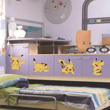 Pokemon Pikachu Wall Stickers For kids Bedroom