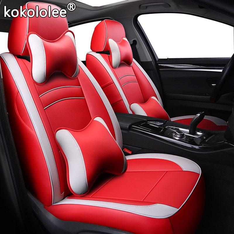 How To Make Car Seat Covers >> Us 18 0 30 Off Kokololee Leather Car Seat Cover For Isuzu Mu X D Max Make Custom With Logo Automobiles Seat Covers Interior Accessories In