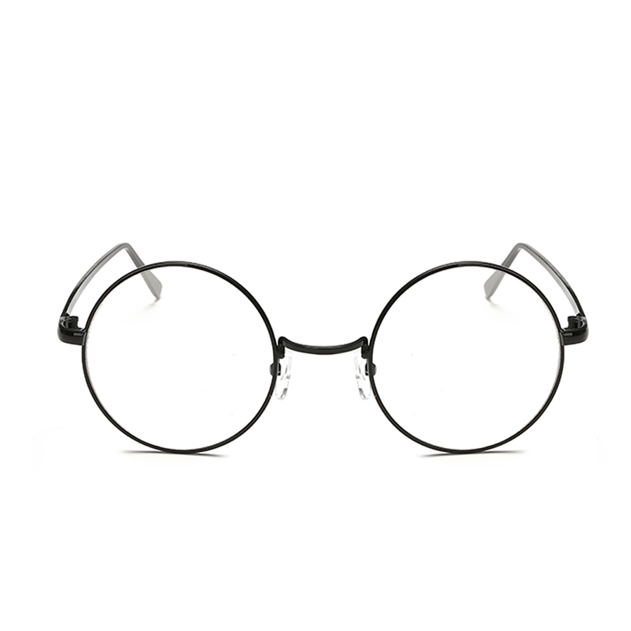 MOLGIRL Round Spectacle Glasses Frames Glasses With Clear Glass ...