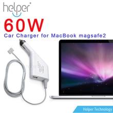 """Dc chargeur de voiture adaptateur voiture adaptateur pour Apple MacBook Pro 13 """" A1425 A1435 A1502 Retina 60 W avec Magsafe 2"""