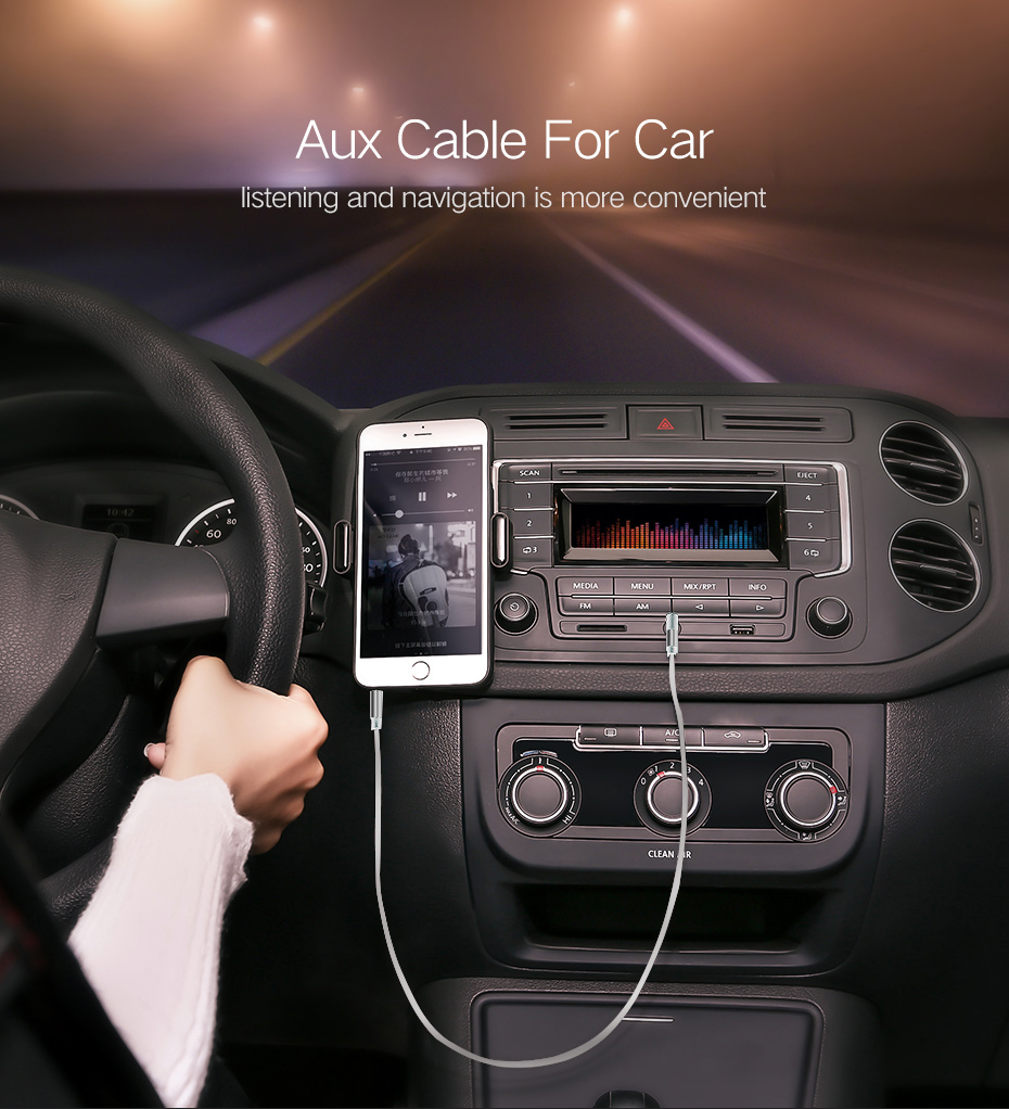 Aux Cable 3.5mm Jack To Jack 90 Degree Right Angle Audio Cable For Car iPhone Headphone Beats Speaker Aux cord MP3