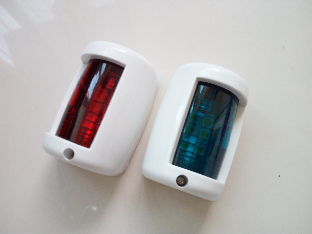 Marine Boat Yacht 12V LED Starboard/Port Navigation Light One Set