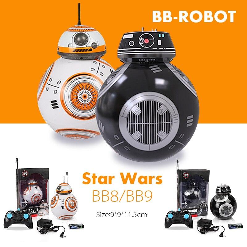 Star Wars Esfero BB8 Control Remoto Robot de Juguete De Bolas BB-8 Droid RC BB 8 BB-9E Último Jedi Distancia de Control de Juguetes Educativos Para Niños