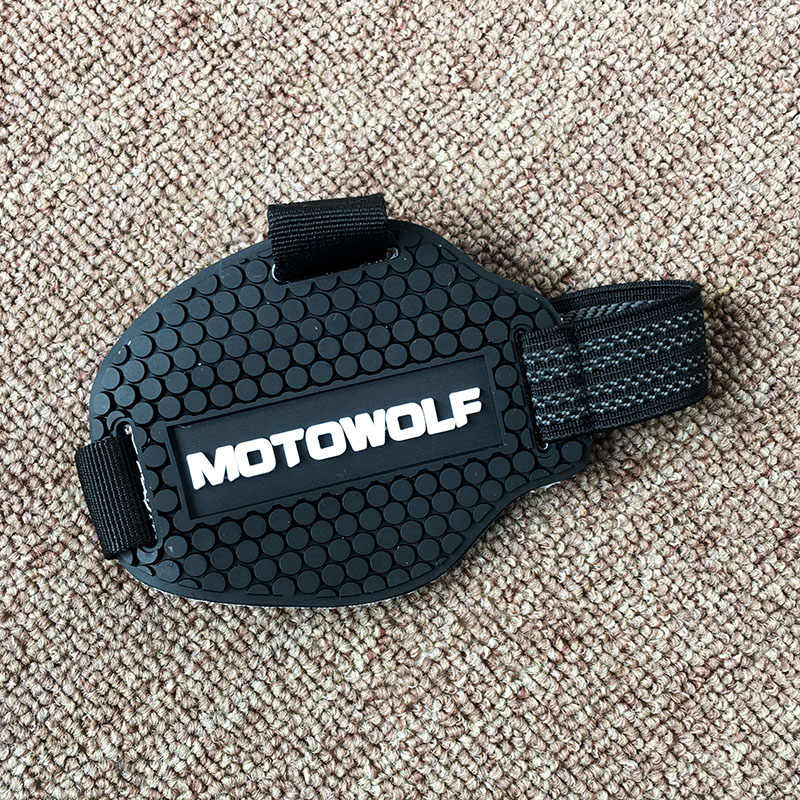 Chaussures moto Protections manette de vitesse chaussure Bottes Protecteur Moto Couverture De Botte De Protection De changement De Vitesse Moto Accessoires
