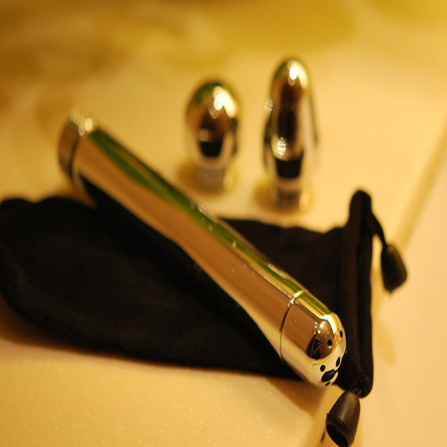 Newest Metal Shower Enema Water Nozzle 3 style Plug Head Enema Anal ...