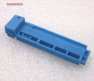 Image 2 - Gongfeng 100 قطع جديد الجمعية ثابت طول متجرد أداة الألياف البصرية موصل سريع ، طول من دليل السكك الحديدية من كومبو بالجملة