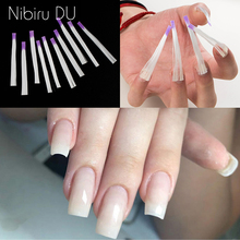 Nail Silk Glass Fiber Fiberglass for Nail Extension Fibernails Form Acrylic Tips Manicure Salon Tool Curvature Clips Silk Wraps цены