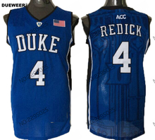 548f62382bdb DUEWEER Mens Duke Blue Devils JJ Redick College Basketball Jersey Duke 4 J.  J. Redick University Black