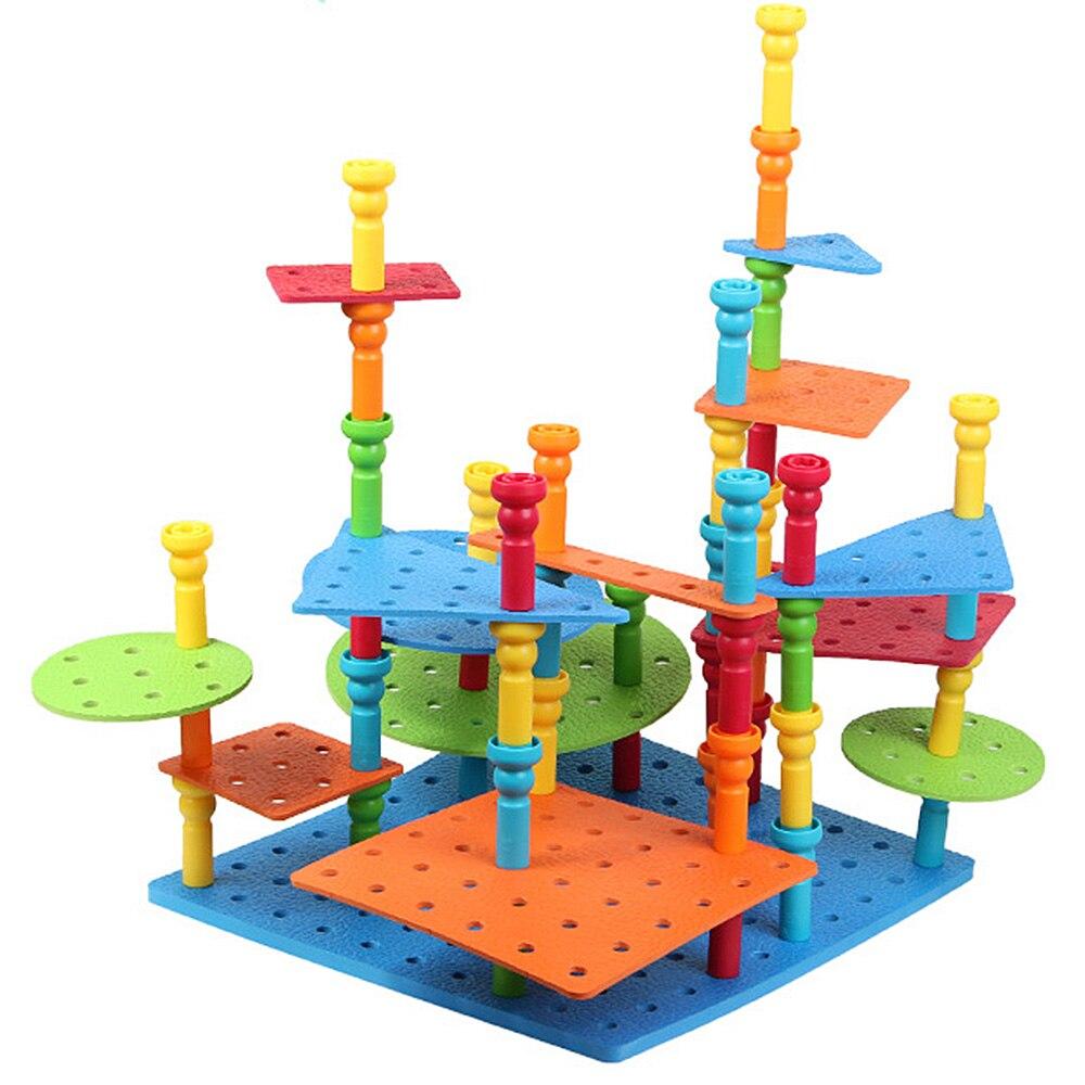100% Kwaliteit 103 Stks Diy Haringen Model Bouwstenen Set Assembly3d Bouw Techniek Speelgoed Jongens Vroeg Leren Kids Verjaardagscadeau