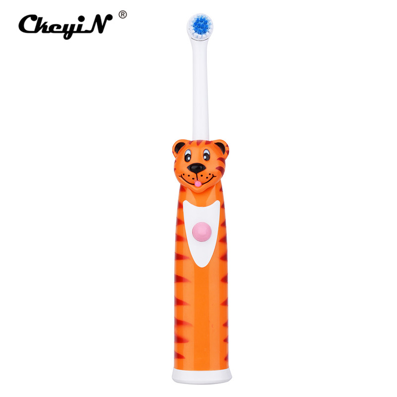 CkeyiN Ultrasonic Sonic Electric Toothbrush Battery Operated Tooth Brushes+2Pcs Replacement Head Teeth Whitening Stain Remover 2017 new kemei km 908 chargeable electric toothbrush reciprocating rotation profession whitening teeth wireless ultrasonic sonic