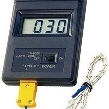 Бесплатная доставка, термометр TM902C, Десятичная точка, датчик быстрого измерения температуры