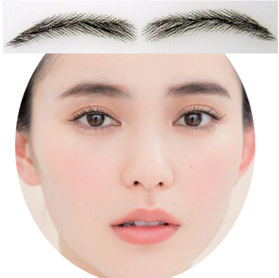 Temporary Eyebrow Tattoos  for Cancer, Alopecia and Hair Loss,Instant Glamour Eye Brows are made from 100% Human Hair strands viruses cell transformation and cancer 5