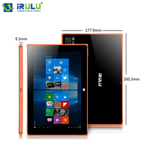 "Nueva iRULU 10.1 ""Tablet Quad Core 6000 mAh 2 en 1 Portátil OS Windows 10 Tabletas 2 GB + 32 GB Dual Cameras OTG G-sensor de 2MP + 5MP"
