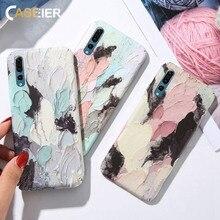 CASEIER 3D Luminous Phone Case For Huawei Mate 20 lite 10 P20 Hard PC Funda Honor 8X 9 Lite Coque  Cover Shell