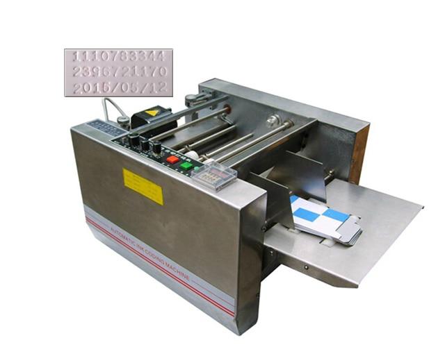 MY-300 expiry date printer, impress or solid-ink coding machine,box produce date printing machine
