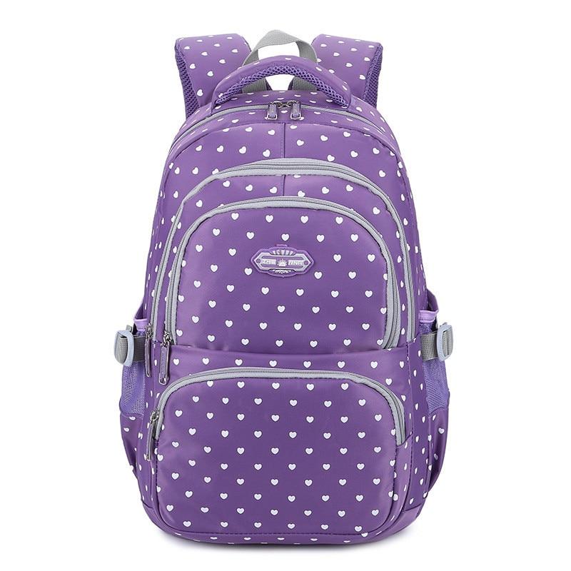 Fashion school backpack for teenage girls children school bags kids baby bags orthopedic backpack Laptop Travel Bags for Teenage