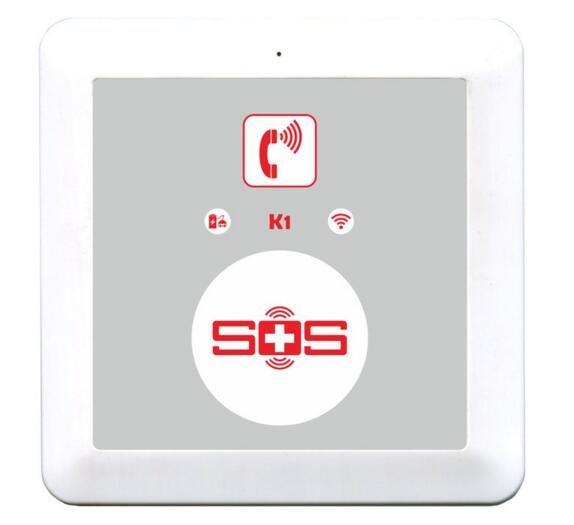 Emergency Phone Sos Elderly, GSM SOS Alarm Call,push To Talk,Two Way Voice Communication Speed Dialer K1