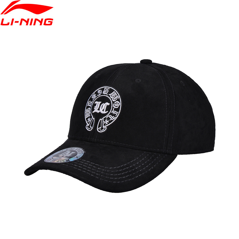 Li-Ning Women Sports Baseball Caps 100% Polyester 56-60 cm Cap LiNing Comfort Sport Hats AMYN012 PMQ067