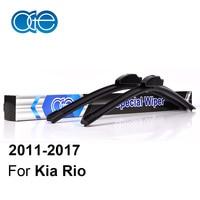 Windscreen Wiper Blades For Kia Rio 2011 2012 2013 2014 2015 2016 26 16 High Quality