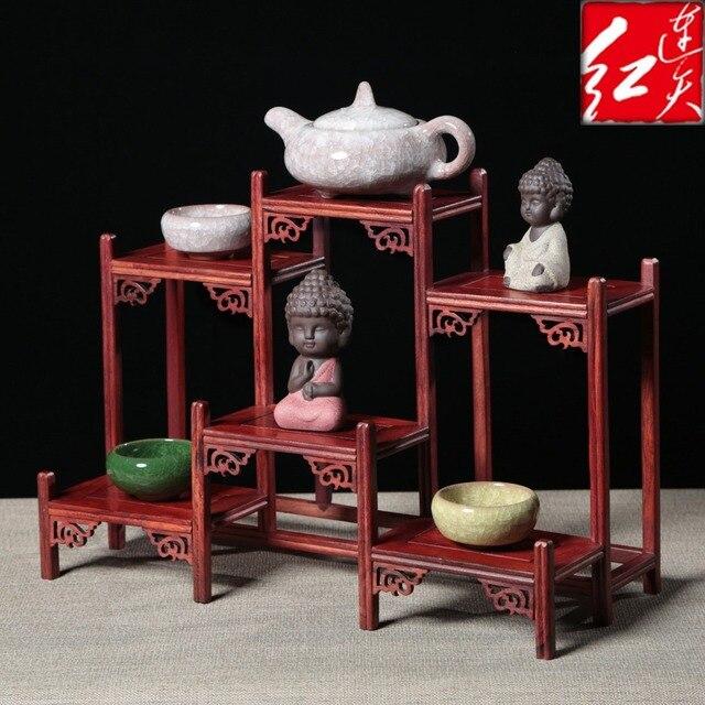 Cinese Ming e Qing Classica Wenge Figurine Decorazioni Scrivania ...