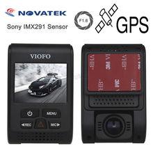 Оригинальный viofo a119s обновлен V2 Автомобильный dashcam Камера Blackbox DVR 2.0 «Экран супер конденсатор Новатэк 96660 HD 1080 P GPS